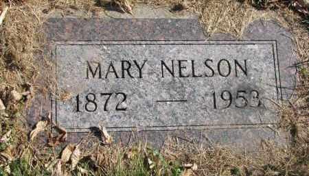 NELSON, MARY - Cedar County, Nebraska | MARY NELSON - Nebraska Gravestone Photos