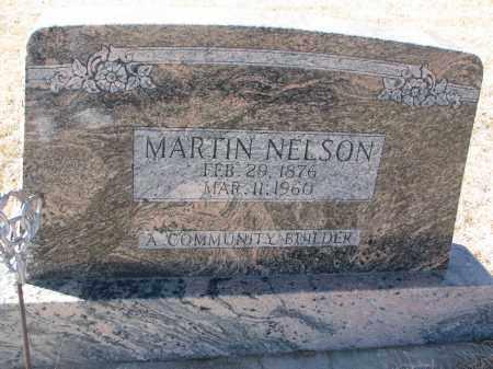 NELSON, MARTIN - Cedar County, Nebraska | MARTIN NELSON - Nebraska Gravestone Photos