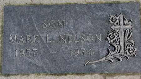 NELSON, MARK L. - Cedar County, Nebraska | MARK L. NELSON - Nebraska Gravestone Photos