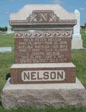 NELSON, NELS PETER - Cedar County, Nebraska | NELS PETER NELSON - Nebraska Gravestone Photos