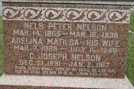 NELSON, C JOSEPH - Cedar County, Nebraska | C JOSEPH NELSON - Nebraska Gravestone Photos