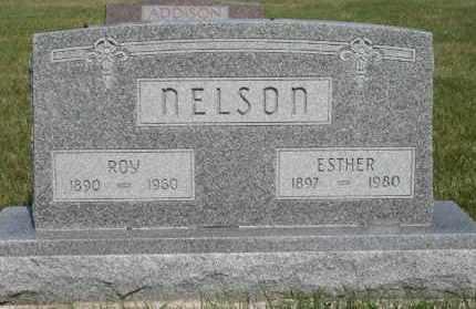 NELSON, ESTHER - Cedar County, Nebraska   ESTHER NELSON - Nebraska Gravestone Photos