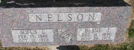 NELSON, BESSIE J. - Cedar County, Nebraska | BESSIE J. NELSON - Nebraska Gravestone Photos