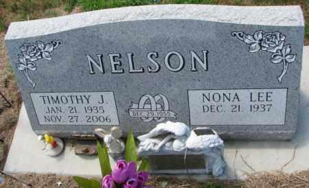 NELSON, NONA LEE - Cedar County, Nebraska | NONA LEE NELSON - Nebraska Gravestone Photos