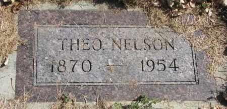 NELSON, THEO - Cedar County, Nebraska | THEO NELSON - Nebraska Gravestone Photos