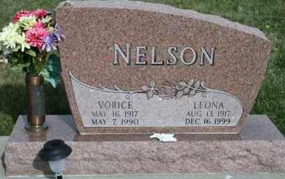 NELSON, VORICE - Cedar County, Nebraska | VORICE NELSON - Nebraska Gravestone Photos
