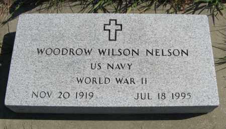 NELSON, WOODROW WILSON - Cedar County, Nebraska   WOODROW WILSON NELSON - Nebraska Gravestone Photos