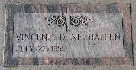 NEUHALFEN, VINCENT D. - Cedar County, Nebraska | VINCENT D. NEUHALFEN - Nebraska Gravestone Photos