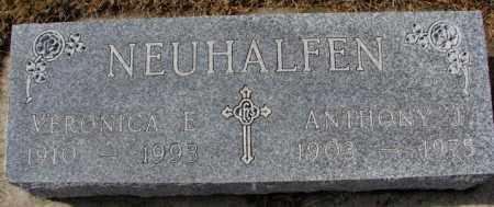 NEUHALFEN, ANTHONY J. - Cedar County, Nebraska | ANTHONY J. NEUHALFEN - Nebraska Gravestone Photos