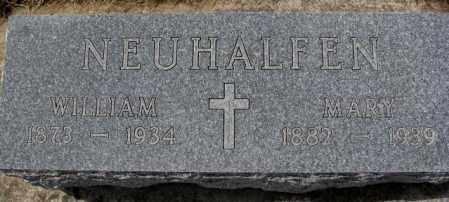 NEUHALFEN, WILLIAM - Cedar County, Nebraska | WILLIAM NEUHALFEN - Nebraska Gravestone Photos