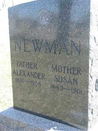 NEWMAN, ALEXANDER - Cedar County, Nebraska   ALEXANDER NEWMAN - Nebraska Gravestone Photos