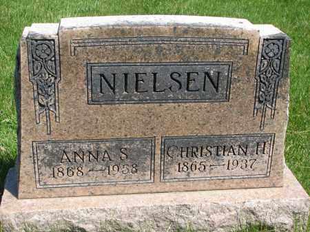 NIELSEN, ANNA S. - Cedar County, Nebraska   ANNA S. NIELSEN - Nebraska Gravestone Photos