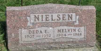 NIELSEN, MELVIN C. - Cedar County, Nebraska | MELVIN C. NIELSEN - Nebraska Gravestone Photos