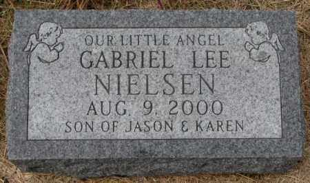 NIELSEN, GABRIEL LEE - Cedar County, Nebraska | GABRIEL LEE NIELSEN - Nebraska Gravestone Photos