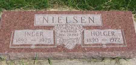 NIELSEN, HOLGER - Cedar County, Nebraska | HOLGER NIELSEN - Nebraska Gravestone Photos