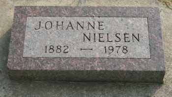 NIELSEN, JOHANNE - Cedar County, Nebraska | JOHANNE NIELSEN - Nebraska Gravestone Photos