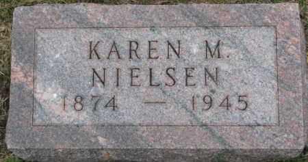 NIELSEN, KAREN M. - Cedar County, Nebraska | KAREN M. NIELSEN - Nebraska Gravestone Photos