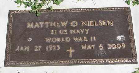 NIELSEN, MATTHEW O. (WW II) - Cedar County, Nebraska | MATTHEW O. (WW II) NIELSEN - Nebraska Gravestone Photos