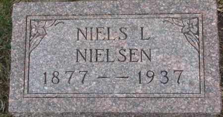 NIELSEN, NIELS L. - Cedar County, Nebraska | NIELS L. NIELSEN - Nebraska Gravestone Photos