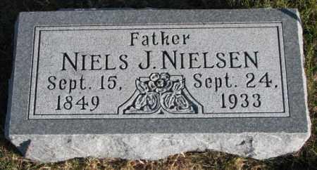 NIELSEN, NIELS J. - Cedar County, Nebraska | NIELS J. NIELSEN - Nebraska Gravestone Photos