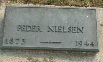 NIELSEN, PEDER - Cedar County, Nebraska | PEDER NIELSEN - Nebraska Gravestone Photos