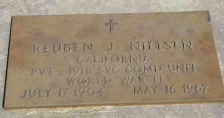 NIELSEN, REUBEN J. - Cedar County, Nebraska | REUBEN J. NIELSEN - Nebraska Gravestone Photos