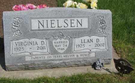 NIELSEN, VIRGINIA D. - Cedar County, Nebraska | VIRGINIA D. NIELSEN - Nebraska Gravestone Photos