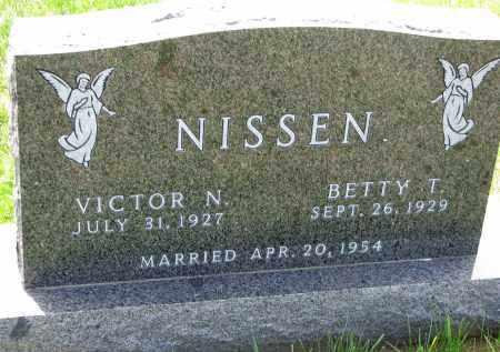 NISSEN, BETTY T. - Cedar County, Nebraska | BETTY T. NISSEN - Nebraska Gravestone Photos