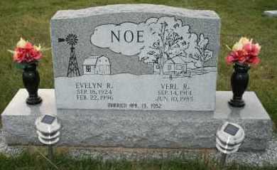 NOE, VERL R - Cedar County, Nebraska | VERL R NOE - Nebraska Gravestone Photos