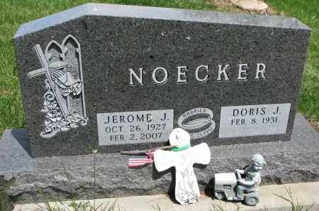 NOECKER, DORIS J. - Cedar County, Nebraska | DORIS J. NOECKER - Nebraska Gravestone Photos