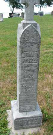 NOECKER, JOHAN - Cedar County, Nebraska   JOHAN NOECKER - Nebraska Gravestone Photos