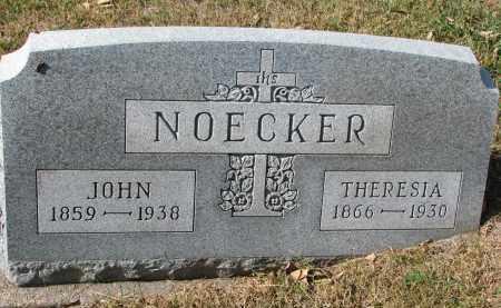 NOECKER, THERESIA - Cedar County, Nebraska | THERESIA NOECKER - Nebraska Gravestone Photos