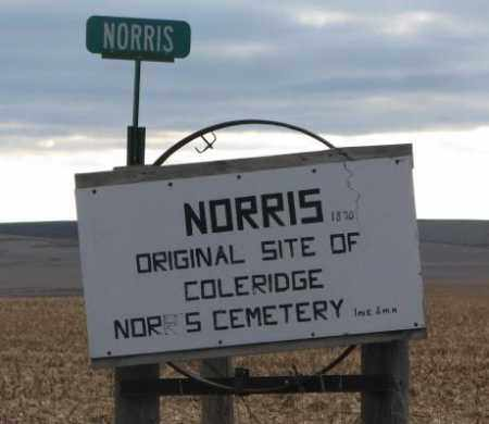 ***NORRIS 1870, ORIGINAL TOWN LOCATION - Cedar County, Nebraska | ORIGINAL TOWN LOCATION ***NORRIS 1870 - Nebraska Gravestone Photos