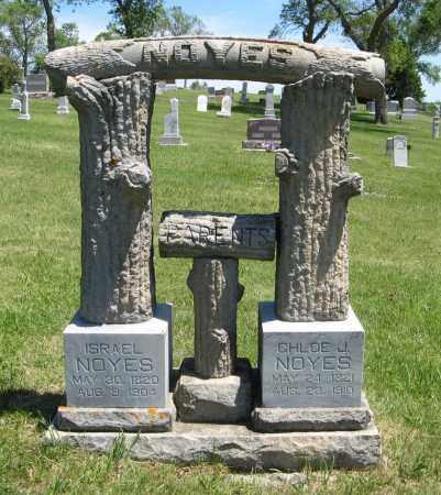 NOYES, ISRAEL - Cedar County, Nebraska | ISRAEL NOYES - Nebraska Gravestone Photos
