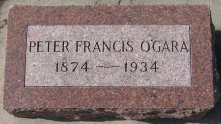 O'GARA, PETER FRANCIS - Cedar County, Nebraska | PETER FRANCIS O'GARA - Nebraska Gravestone Photos