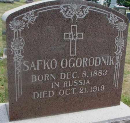OGORODNIK, SAFKO - Cedar County, Nebraska   SAFKO OGORODNIK - Nebraska Gravestone Photos