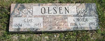 OLSEN, GUS - Cedar County, Nebraska | GUS OLSEN - Nebraska Gravestone Photos
