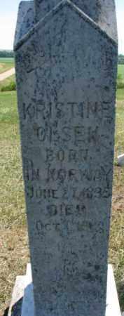OLSEN, KRISTINE - Cedar County, Nebraska | KRISTINE OLSEN - Nebraska Gravestone Photos