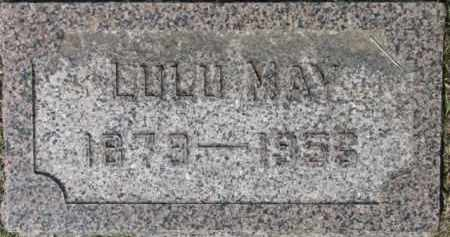 OLSEN, LULU MAY - Cedar County, Nebraska | LULU MAY OLSEN - Nebraska Gravestone Photos