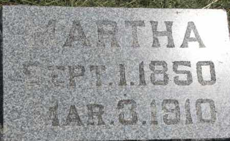OLSEN, MARTHA - Cedar County, Nebraska | MARTHA OLSEN - Nebraska Gravestone Photos
