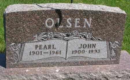 OLSEN, PEARL - Cedar County, Nebraska | PEARL OLSEN - Nebraska Gravestone Photos
