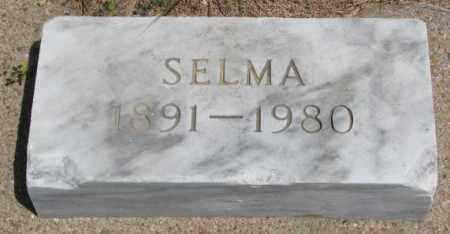 OLSEN, SELMA - Cedar County, Nebraska | SELMA OLSEN - Nebraska Gravestone Photos