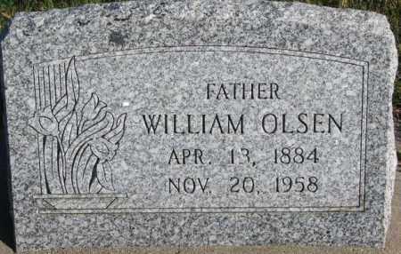 OLSEN, WILLIAM - Cedar County, Nebraska   WILLIAM OLSEN - Nebraska Gravestone Photos