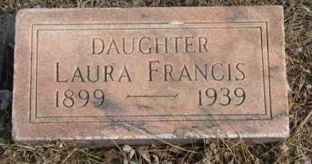 OLSON, LAURA FRANCIS - Cedar County, Nebraska | LAURA FRANCIS OLSON - Nebraska Gravestone Photos