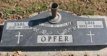OPFER, EARL - Cedar County, Nebraska | EARL OPFER - Nebraska Gravestone Photos