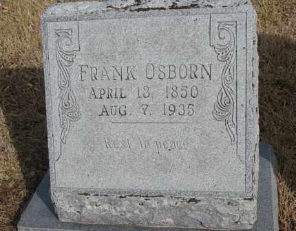 OSBORN, FRANK - Cedar County, Nebraska   FRANK OSBORN - Nebraska Gravestone Photos