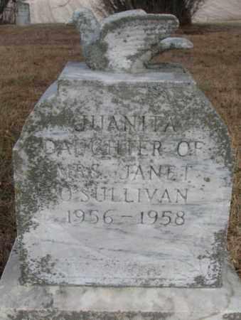 O'SULLIVAN, JUANITA - Cedar County, Nebraska | JUANITA O'SULLIVAN - Nebraska Gravestone Photos