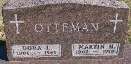 OTTEMAN, MARTIN H. - Cedar County, Nebraska | MARTIN H. OTTEMAN - Nebraska Gravestone Photos