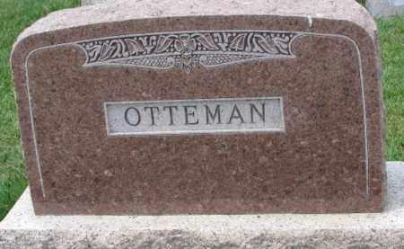 OTTEMAN, PLOT - Cedar County, Nebraska   PLOT OTTEMAN - Nebraska Gravestone Photos