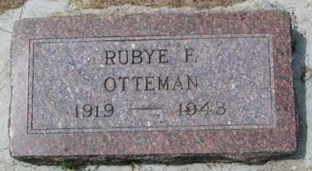 OTTEMAN, RUBYE F. - Cedar County, Nebraska   RUBYE F. OTTEMAN - Nebraska Gravestone Photos